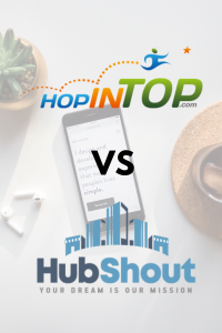What Is HubShout Vs HopInTop